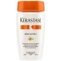hranilna šamponska kopel za suhe občutljive lase