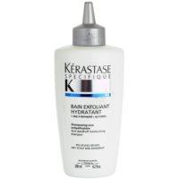 šamponová lázeň proti lupům pro suchou vlasovou pokožku