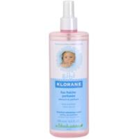 agua refrescante en spray para niños