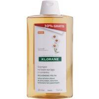 Klorane Camomille champô para cabelo loiro e grisalho