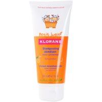 Klorane Petit Junior shampoing pour enfant arôme pêche