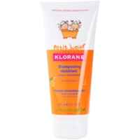 detský šampón s vôňou broskyne