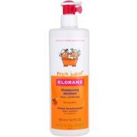 Klorane Petit Junior детски шампоан с аромат на праскова