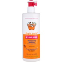 Klorane Petit Junior champô infantil com aromas de pêssegos