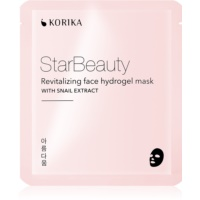 KORIKA StarBeauty revitalizing face hydrogel mask with snail extract
