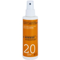 Korres Sun Care Yoghurt Emulsion For Sunbathing SPF 20