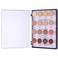 Minipalette mit stark deckenden Korrektur-Cremes in 16 Farben