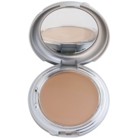 kompaktes Creme-Make-up inkl. Spiegel und Pinsel