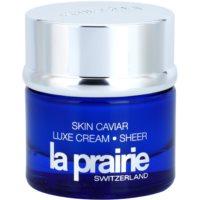 crema con efecto lifting con caviar