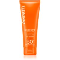 Lancaster Sun Sensitive слънцезащитно мляко за чувствителна кожа SPF 50