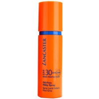 Lancaster Oil Free Spray leite solar em spray SPF 30