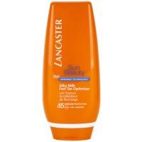 Lancaster Sun Beauty leche bronceadora con efecto seda  SPF 15