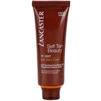 Lancaster Self Tan Beauty gel auto-bronzant lissant visage