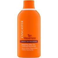 Lancaster Tan Maximizer crema hidratante calmante para prolongar el bronceado para rostro y cuerpo