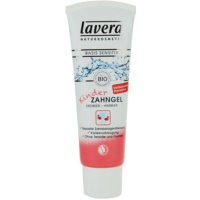 Lavera Basis Sensitiv gel dentaire pour enfant