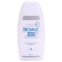 šampon za okrepitev las s keratinskim kompleksom
