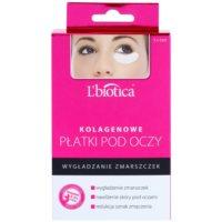 kolagénová maska na očné okolie s protivráskovým účinkom