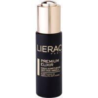 elixir luxuoso com óleos hidratantes anti-idade de pele