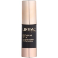 Lierac Premium krema za predel okoli oči za kompleksno nego proti gubam, zabuhlosti in temnim kolobarjem