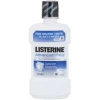 Listerine Advanced White enjuague bucal con efecto blanqueador