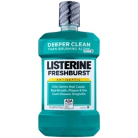 Listerine Fresh Burst Plaque Mouthwash