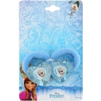 Lora Beauty Disney Frozen Hair Elastics In Heart Shape