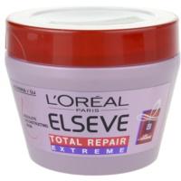 obnovitvena maska za suhe in poškodovane lase