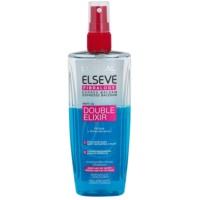 Schützender Spray für von Wärme überanstrengtes Haar