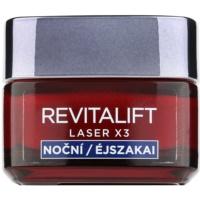 L'Oréal Paris Revitalift Laser X3 crema de noche regeneradora  antienvejecimiento