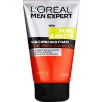 L'Oréal Paris Men Expert Pure & Matte hĺbkovo čistiaca pena proti akné