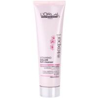 delikatny szampon oczyszczający do włosów farbowanych