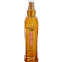 csillogó olaj testre és hajra