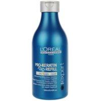šampón pre poškodené vlasy
