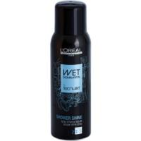 Haarspray für höheren Glanz