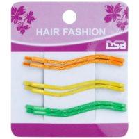 barevné pinety do vlasů ve tvaru vlnky