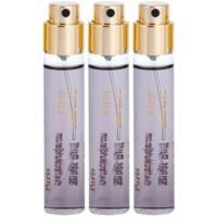 extrato de perfume unissexo 3 x 11 ml recarga