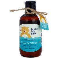 tělový olej pro děti od narození