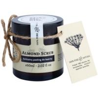 exfoliante suave de almendras para pieles secas y sensibles