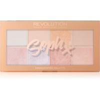 Makeup Revolution Soph X палитра с озарители