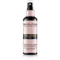 Makeup Revolution Hyaluronic Fix fixačný sprej na make-up s hydratačným účinkom