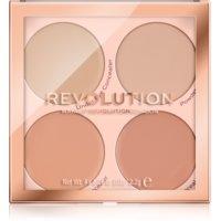 Makeup Revolution Matte Base paleta korektorjev