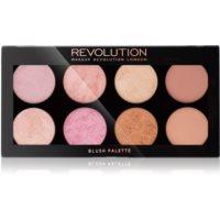 Makeup Revolution Golden Sugar 2 Rose Gold paleta líceniek