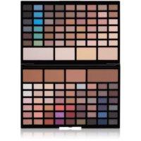 Makeup Revolution Pro HD Eyes & Contour палетка тіней для повік та пудри для контурування обличчя  з ефектом сяйва