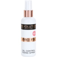 Makeup Revolution Pro Fix mattító fixáló spray a make-upra