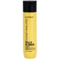 Schützendes Shampoo für blonde Haare