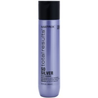 Matrix Total Results So Silver shampoing protecteur de couleur cheveux blonds