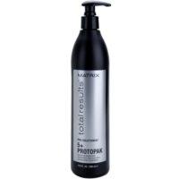 tratamiento renovador  para cabello dañado, químicamente tratado