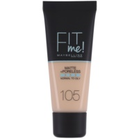Maybelline Fit Me! Matte+Poreless maquillaje