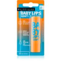 Maybelline Baby Lips Sport vlažilni balzam za ustnice SPF 20