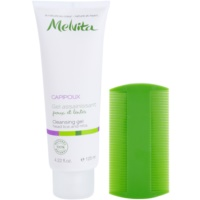 Melvita Capipoux Reinigungsgel gegen Kopfläuse und Nissen
